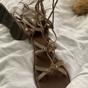 Lace up Ankle Sandals